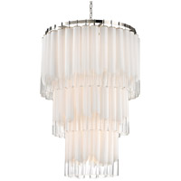 Tyrell 16 Light 31 inch Polished Nickel Pendant Ceiling Light