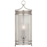 Hudson Valley Lighting Amelia 1 Light Wall Sconce in Antique Nickel 8991-AN
