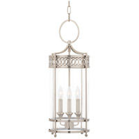 Hudson Valley 8993-AN Amelia 3 Light 10 inch Antique Nickel Pendant Ceiling Light