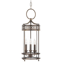 Amelia 3 Light 10 inch Distressed Bronze Pendant Ceiling Light