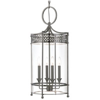 Hudson Valley 8994-AN Amelia 4 Light 13 inch Antique Nickel Pendant Ceiling Light