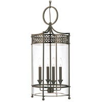 Amelia 4 Light 13 inch Distressed Bronze Pendant Ceiling Light