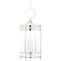 Hudson Valley 8994-PN Amelia 4 Light 13 inch Polished Nickel Pendant Ceiling Light