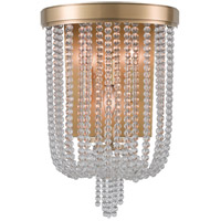 Hudson Valley Lighting Royalton 3 Light Wall Sconce in Aged Brass 9000-AGB