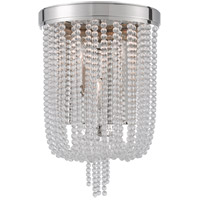 Hudson Valley Lighting Royalton 3 Light Wall Sconce in Polished Nickel 9000-PN