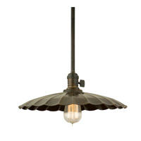 Hudson Valley 9001-AGB-ML3 Heirloom 1 Light 17 inch Aged Brass Pendant Ceiling Light in ML3 No