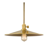 Hudson Valley Lighting Heirloom 1 Light Pendant in Aged Brass 9001-AGB-MM1