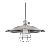 Heirloom 1 Light 17 inch Historic Nickel Pendant Ceiling Light