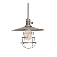 Heirloom 1 Light 10 inch Historic Nickel Pendant Ceiling Light