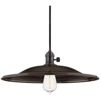 Heirloom 1 Light 17 inch Old Bronze Pendant Ceiling Light in ML2, No