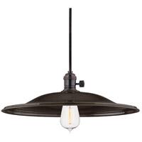 Hudson Valley 9001-OB-ML2 Heirloom 1 Light 17 inch Old Bronze Pendant Ceiling Light in ML2 No