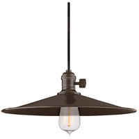 Hudson Valley 9001-OB-MM1 Heirloom 1 Light 14 inch Old Bronze Pendant Ceiling Light in MM1, No photo thumbnail