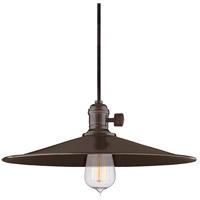 Hudson Valley 9001-OB-MM1 Heirloom 1 Light 14 inch Old Bronze Pendant Ceiling Light in MM1 No