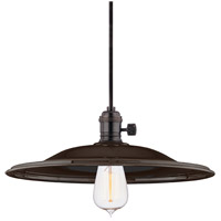 Hudson Valley 9001-OB-MM2 Heirloom 1 Light 14 inch Old Bronze Pendant Ceiling Light in MM2 No