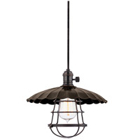 Heirloom 1 Light 10 inch Old Bronze Pendant Ceiling Light in MS3, Yes