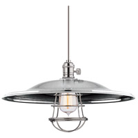 Heirloom 1 Light 17 inch Polished Nickel Pendant Ceiling Light in ML2, Yes