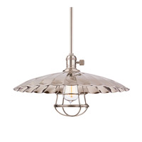 Heirloom 1 Light 17 inch Polished Nickel Pendant Ceiling Light in ML3, Yes