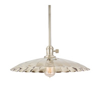 Hudson Valley Lighting Heirloom 1 Light Pendant in Polished Nickel 9001-PN-ML3