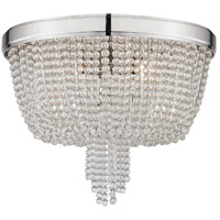 Royalton 4 Light 18 inch Polished Nickel Flush Mount Ceiling Light