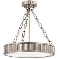 Hudson Valley 901-HN Middlebury 3 Light 16 inch Historic Nickel Semi Flush Ceiling Light photo thumbnail