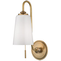 Hudson Valley 9011-AGB Glover 1 Light 6 inch Aged Brass Wall Sconce Wall Light