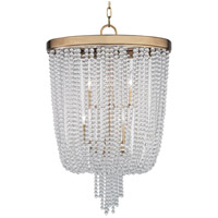 Royalton 6 Light 18 inch Aged Brass Pendant Ceiling Light