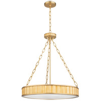 Middlebury 5 Light 22 inch Aged Brass Pendant Ceiling Light