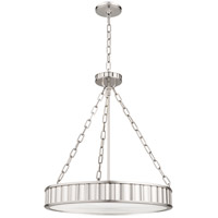 Hudson Valley 902-PN Middlebury 5 Light 22 inch Polished Nickel Pendant Ceiling Light photo thumbnail