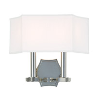 Hudson Valley Lighting Russell 2 Light Wall Sconce in Polished Nickel 9022-PN