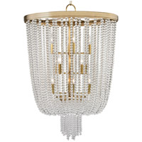 Royalton 12 Light 26 inch Aged Brass Pendant Ceiling Light