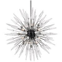 Sparta 12 Light 32 inch Polished Nickel Chandelier Ceiling Light