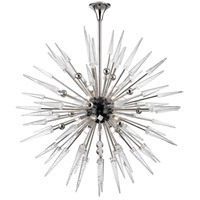 Sparta 18 Light 48 inch Polished Nickel Chandelier Ceiling Light