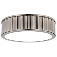 Middlebury 2 Light 13 inch Historic Nickel Flush Mount Ceiling Light