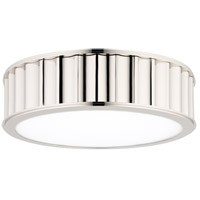 Hudson Valley 911-PN Middlebury 2 Light 13 inch Polished Nickel Flush Mount Ceiling Light photo thumbnail
