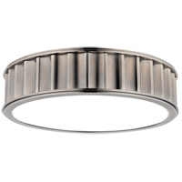 Middlebury 3 Light 16 inch Historic Nickel Flush Mount Ceiling Light