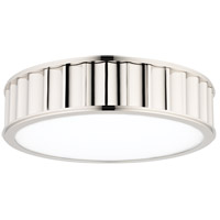 Hudson Valley 912-PN Middlebury 3 Light 16 inch Polished Nickel Flush Mount Ceiling Light