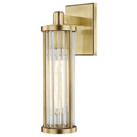 Marley 1 Light 5 inch Aged Brass Wall Sconce Wall Light