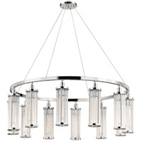 Marley 12 Light 43 inch Polished Nickel Pendant Ceiling Light