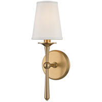 Hudson Valley 9210-AGB Islip 1 Light 5 inch Aged Brass Wall Sconce Wall Light