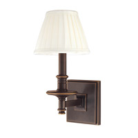 Hudson Valley Lighting Litchfield 1 Light Wall Sconce in Old Bronze 9211-OB
