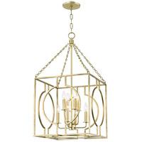 Hudson Valley 9218-GL Octavio 8 Light 18 inch Gold Leaf Pendant Ceiling Light
