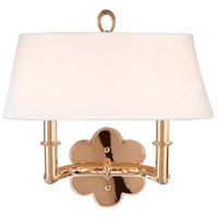Pomona 2 Light 14 inch Polished Brass Wall Sconce Wall Light