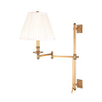 Hudson Valley Lighting Litchfield 1 Light Wall Sconce in Flemish Brass 9231-FB