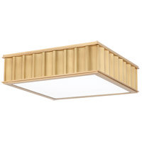 Middlebury 2 Light 13 inch Aged Brass Flush Mount Ceiling Light