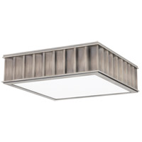 Hudson Valley Lighting Middlebury 2 Light Flush Mount in Historic Nickel 931-HN