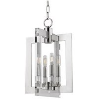 Wellington 4 Light 12 inch Polished Nickel Pendant Ceiling Light