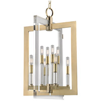 Wellington 8 Light 18 inch Aged Brass Pendant Ceiling Light