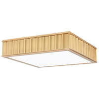 Hudson Valley 932-AGB Middlebury 3 Light 16 inch Aged Brass Flush Mount Ceiling Light