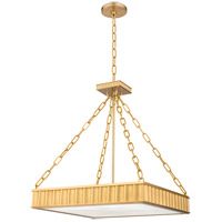 Middlebury 5 Light 20 inch Aged Brass Pendant Ceiling Light