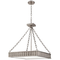 Middlebury 5 Light 20 inch Historic Nickel Pendant Ceiling Light